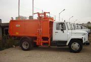 Мусоровоз с боковой загрузкой КО-440-2 на шасси ГАЗ-3309