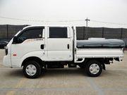 KIA BONGO III,  4WD,  сдвоенная кабина,  борт,  тент
