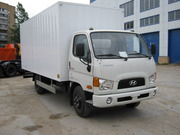 Промтоварный фургон на шасси Hyundai HD 78