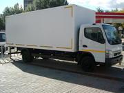 Изотермический фургон на шасси Mitsubishi fuso canter FE85DG