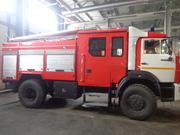 АЦ-3,  0-40 (5387RF) -26ABP на базе шасси КАМАЗ 43502