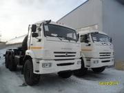 Пищевая автоцистерна на шасси КАМАЗ 43118