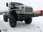 Шасси Урал 4320 полный капремонт