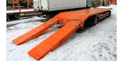Прицеп с разнесенными осями низкорамный тяжеловоз 16 тонн 8 метров